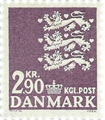 Danmark 1968 - AFA 470 - Postfrisk