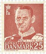 Danmark 1950 - AFA 321 - Postfrisk