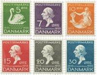 Danmark - AFA 223-228 postfrisk