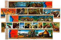 Senegal 1976-1980 - Michel 583/588, 659/664, 716/721 - Postituore