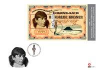 Groenland - Banknotes'21 - FDC met souvenirvelletje