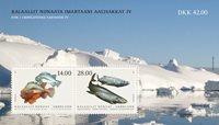 Groenland - Fishes'21 - Postfris souvenirvelletje