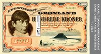 Groenland - Banknotes'21 - Postfris souvenirvelletje
