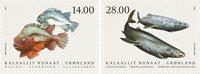 Groenland - Fishes'21 - Postfrisse serie van 2