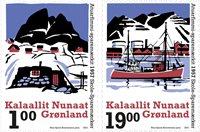 Groenland - School savings coupons'21 - Postfrisse serie van 2