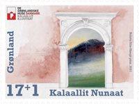 Groenland centers - Postfrisse postzegel