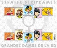 België - Ladies in Comic'21 - Postfris velletje
