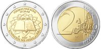 Olanda - Moneta da 2 euro Trattato di Roma - 2007