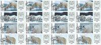 Frankeringsmærker 2019 - Grl. Post - Dagstemplet - Collectors set