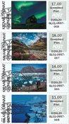 Frankeringsmærker 2018 - Grl. Post - Dagstemplet - Collectors strip
