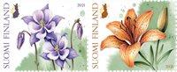 Finland - Garden flowers - Mint set 2v