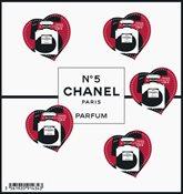 France - Chanel no.5 - Mint souvenir sheet