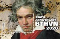 Malta - Ludwig van Beethoven 250 vuotta - Postituore pienoisarkki