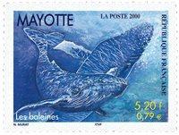 Maoytte - Hvaler - Postfrisks frimærke