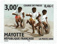 Mayotte - Børns leg - Postfrisk frimærke