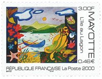 Mayotte - L'Ile Au Lagon - Postfrisk frimærke