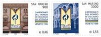 San Marino -  Cykling - Postfrisk sæt 2v