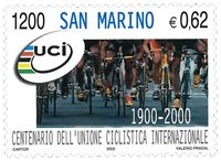 San Marino - UCI Int. Cyklistforbund - Postfrisk frimærke