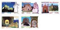 San Marino - Religiøs kunst - Postfrisk sæt 4v