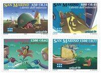 Saint Marin - Droits des enfants - Série neuve 4v