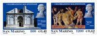 San Marino - Kunstfestival - Postfrisk sæt 2v