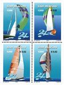 San Marino - Skibe/Sejlsport - Postfrisk sæt 4v