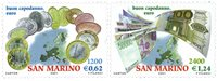 San Marino - Mønter/pengesedler - Postfrisk sæt 2v