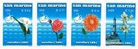 San Marino - Euroflora - Postfrisk sæt 4v