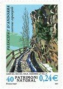 Spansk Andorra - Naturarv - Postfrisk frimærke