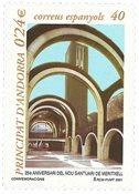 Spansk Andorra - Meritxell - Postfrisk frimærke