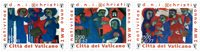 Vatican - Noël 2001 - Série neuve 3v