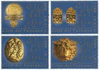 Vatican - Musée art ethnique - Série neuve 4v