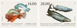 Fisk i Grønland IV - Postfrisk - Sæt