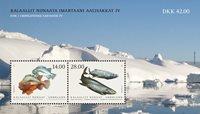 Fisk i Grønland IV - Postfrisk - Miniark