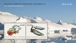 Fish in Greenland IV - Mint - Souvenir sheet