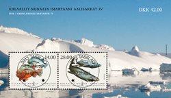 Fisk i Grønland IV - Centralt dagstemplet - Miniark