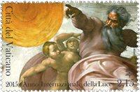 Vatikanet - Internalt år for lyset - Postfrisk frimærke