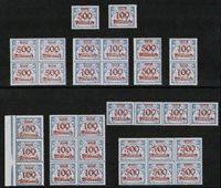 Danzig - 33 frimærker