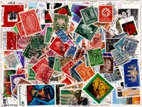 Allemagne - 700 timbres oblitérés différents
