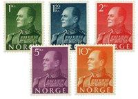 Norge 1959 - AFA 437/441 - Postfrisk