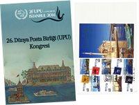 Tyrkiet - UPU congress, 26th ann. / MS - Stemplet miniark