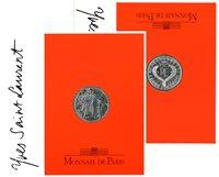 Frankrig - YSL - Sølvmønt