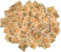 Suomi 1889 - 20p keltainen -malli - 195 erilaista