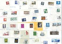 Sverige - 40 forskellige frimærker