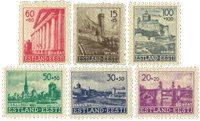 Eesti 1941 - Michel 4-9 - postituoreina
