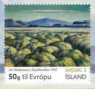 Island - Sepac 2020 - Postfrisk frimærke
