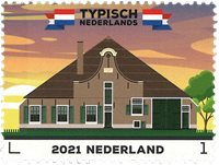 Pays-Bas - Typical Dutch / Farmhouse * - Timbre neuf
