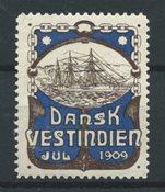 Antilles danoises  - Jul 1909 - Neuf avec charnières