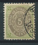 Antilles danoises  - AFA 10 By - Oblitéré