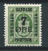 Danmark  - AFA 163 - Ustemplet
